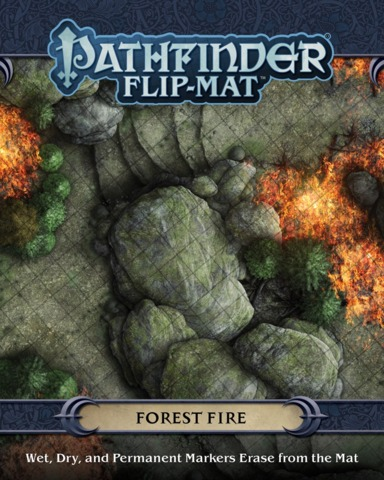 Pathfinder Flip-Mat - Forest Fire