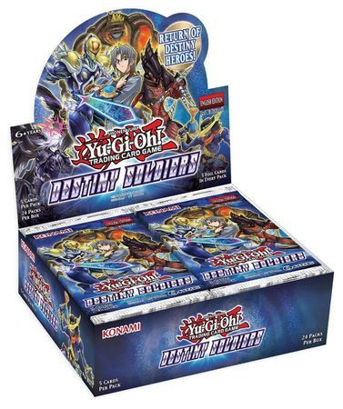 Yu-Gi-Oh! - Destiny Soldiers Booster Box