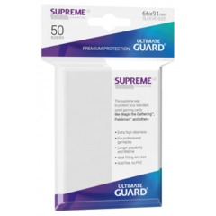 Ultimate Guard Supreme Sleeves Frosted