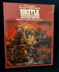 AD&D BattleSystem Fantasy Combat Supplement TSR #1019 (1985)