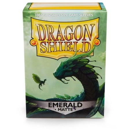 Dragon Shield Box 100 Matte Emerald