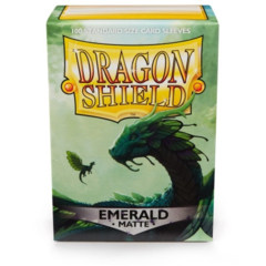 Dragon Shield Box 100 Matte Emerald