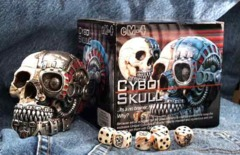 Cybo Skull Dice Holder