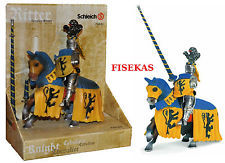 Mounted Blue Knight Schleich 70020