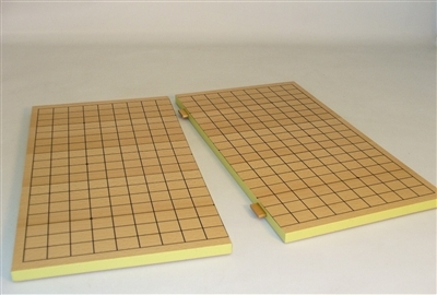 Slotted wood Go Board