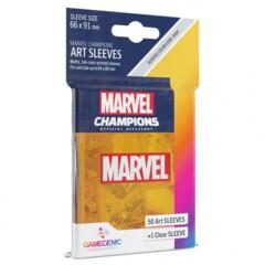 G10107 - Marvel Champions Art Sleeves - Marvel Orange
