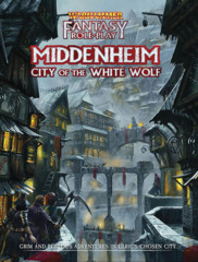 Warhammer Fantasy RPG: Middenheim - City of the White Wolf