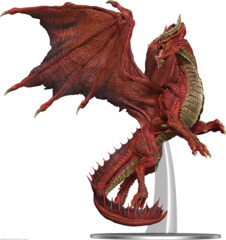 D&D Icons of the Realm Adult Red Dragon WZK96032 Premium Figure