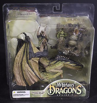 McFarlanes Dragons Eternal Dragon Clan 3 Quest for Lost King NIB