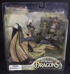 McFarlane's Dragons Eternal Dragon Clan 3 Quest for Lost King NIB