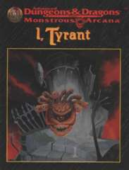AD&D - Monstrous Arcana - I, Tyrant 9521