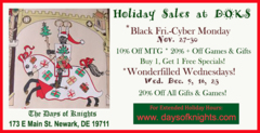 Black Friday-Cyber Monday at DOKS Store SALE