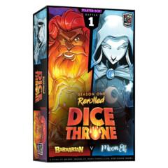 Dice Throne Season One Rerolled - Barbarian vs Moon Elf
