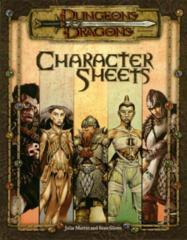 D&D 3E - Character Sheets 11642