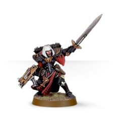 Sisters of Battle Superior with Power Sword & Bolter