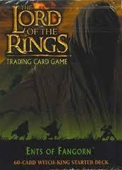 LOTR-TCG 2x Starter Decks: Faramir & Witch King, Ents of Fangorn