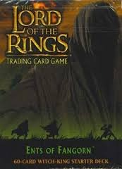 LOTR-TCG 2x Starter Decks: Faramir & Witch King, Ents of Fangorn