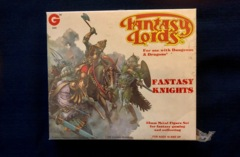 Grenadier Fantasy Lords Knights, Fighters & Men at Arms Metal Figure Set #8005 Sealed
