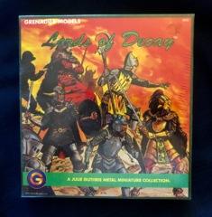 Grenadier Lords of Decay: Julie Guthrie Metal Miniature Set #8802 Sealed