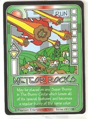 Killer Bunnies and Quest for the Magic Carrot Meteor Rocks Psi Card