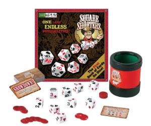 Square Shooters Deck of Dice Game