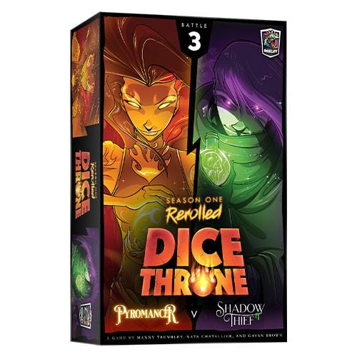 Dice Throne Season One Rerolled - Pyromancer vs Shadow Thief