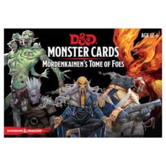 D&D 5E (GF9) - Monster Cards - Mordenkainen's Tome of Foes