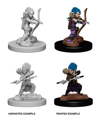 WZK 73408 - Female Gnome Rogue - Miniatures » Pathfinder