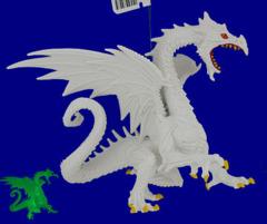 Snow Dragon Glow-in-the-Dark Safari 10120