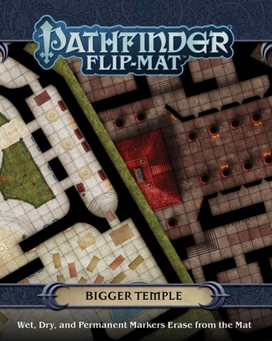 Pathfinder Flip-Mat - Bigger Temple 30099
