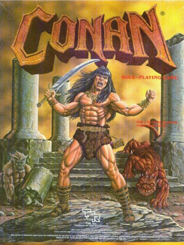 Conan Roleplaying Game Vintage Box Set TSR