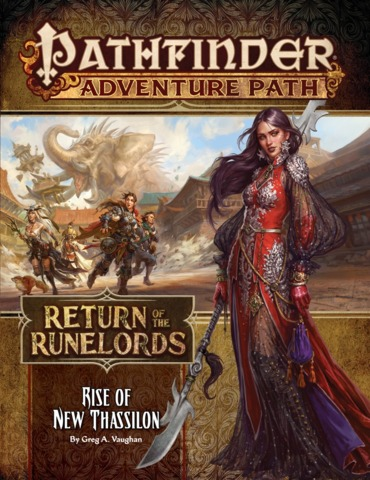 Pathfinder Adventure Path 138 - Rise of New Thassilon 90138