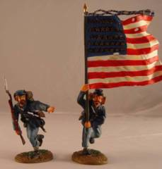 ACW57109 UNION INFANTRY FLAGBEARER SET