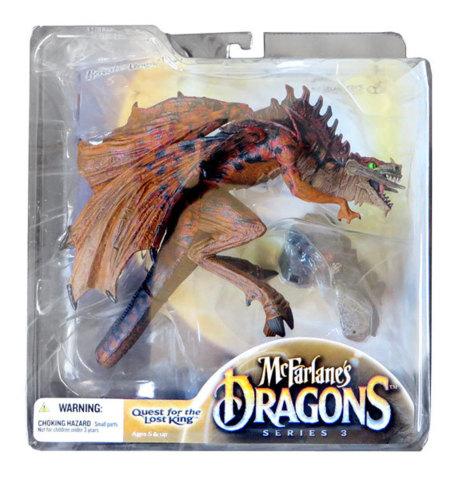 McFarlane's Dragons Beserker Clan 3 Dragon Clan 3 Quest for Lost King NIB