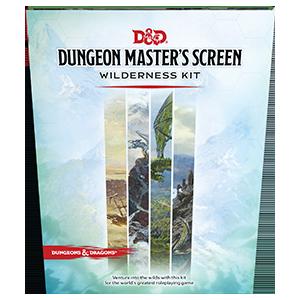 D&D 5E - Dungeon Masters Screen Wilderness Kit