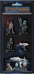 Starfinder Miniatures - Iconic Heroes Set #1