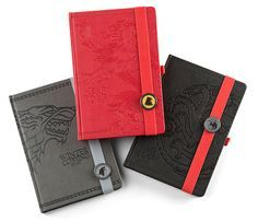 Game of Thrones Premium Notebook (Targaryen)