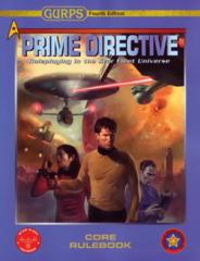 Gurps Prime Directive Core Rulebook 4E