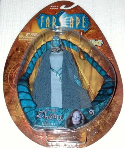 Farscape Pa'v Zotoh Zhaan Toy Vault Action Figure Series 1
