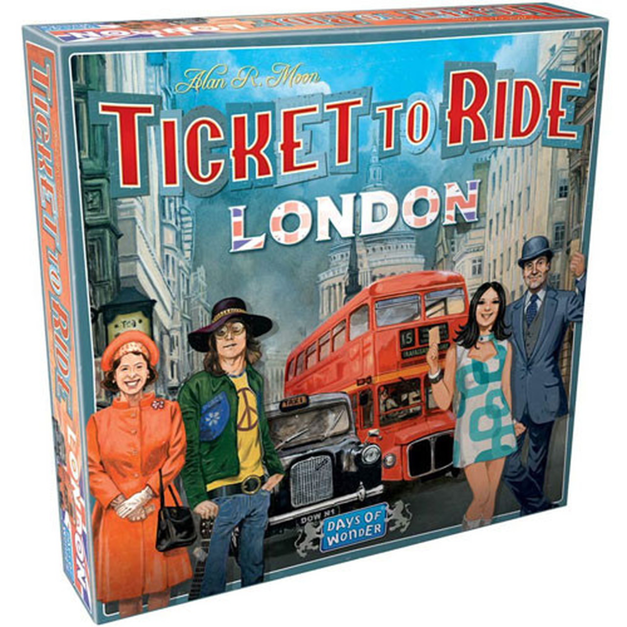 DO7261 - Ticket to Ride: London