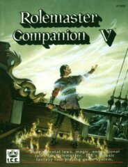Rolemaster (2e) - Companion V 1900
