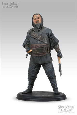 LOTR Peter Jackson as a Corsair by Sideshow Collections