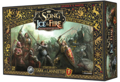 A Song of Ice & Fire Tabletop Miniatures - Starter Set Stark vs Lannister
