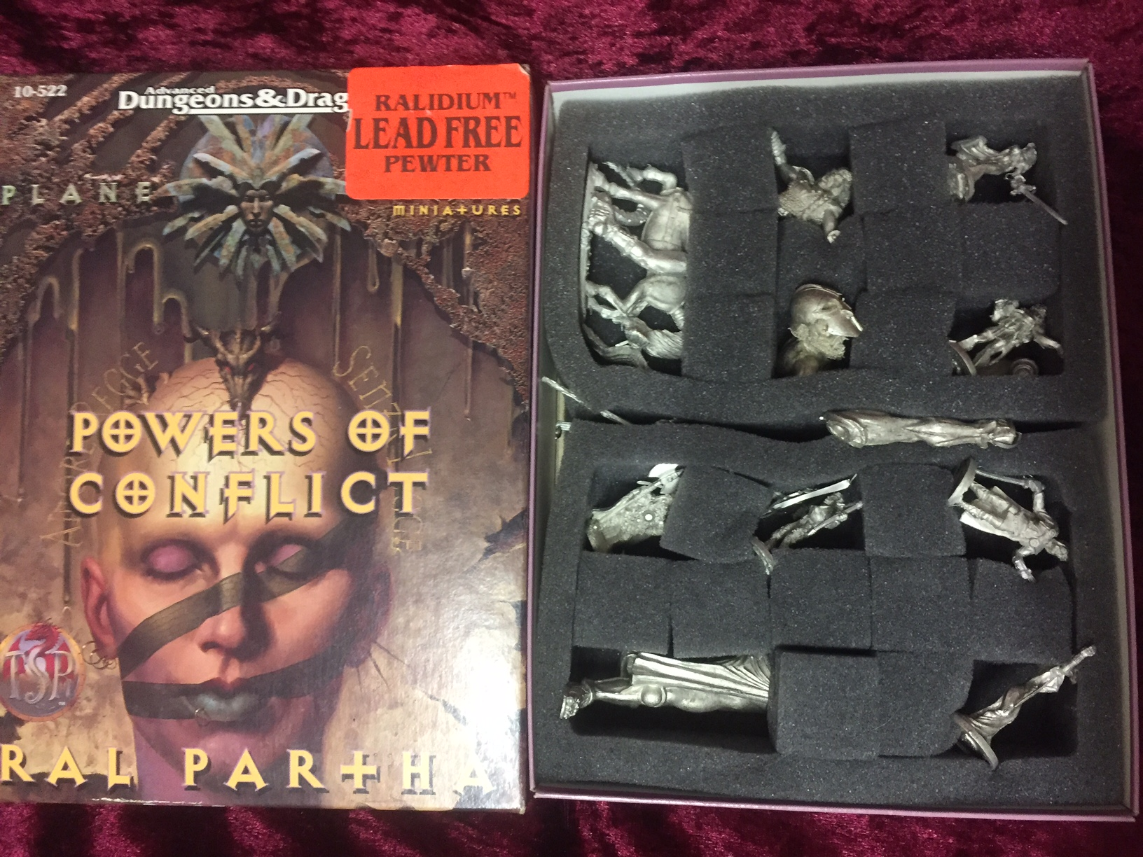 Planescape Powers of Conflict Miniatures AD&D 2E 10-522 Ral Partha