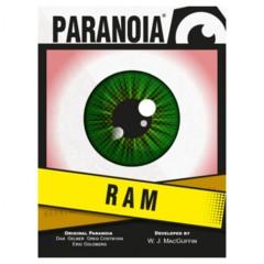 Paranoia RPG: The RAM Deck
