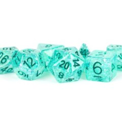 16mm Flash Dice: Teal
