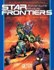 Star Frontiers SF1 - Volturnus, Planet of Mystery 7801