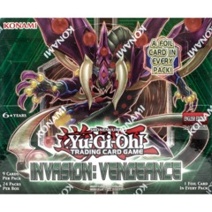 Yu-Gi-Oh! - Invasion: Vengeance Booster Box