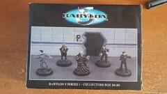 Babylon 5 Collectors Box Miniatures B5202 Series 2 Limited Edition