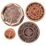LOTR The Hobbit Four Coins from the Shire Set 1